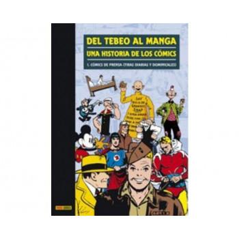 DEL TEBEO AL MANGA 01. UNA HISTORIA DE LOS COMICS