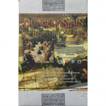 SET BASICO DE CAVERNAS DUNGEON SPAIN