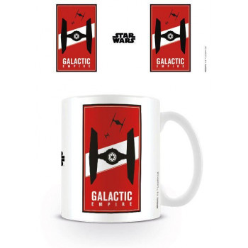 TAZA TIE FIGHTER GALACTIC...