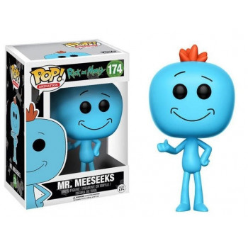 FUNKO POP! 174 MR. MEESEEKS. RICK Y MORTY