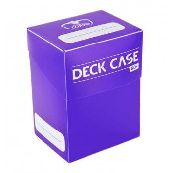 VIOLET DECK CASE 80+ CAJA DE CARTAS TAMAÑO ESTANDAR VIOLETA ULTIMATE GUARD