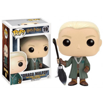 FUNKO POP! 19 DRACO MALFOY QUIDDITCH HARRY POTTER