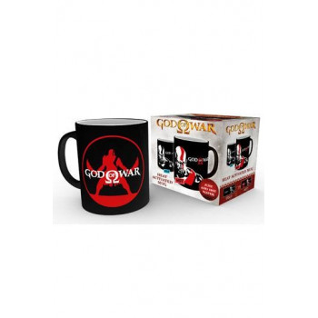 TAZA KRATOS SENSITIVA AL CALOR. GOD OF WAR