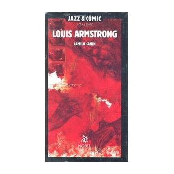 LOUIS ARMSTRONG JAZZ & COMIC (2CD + 1 COMIC)