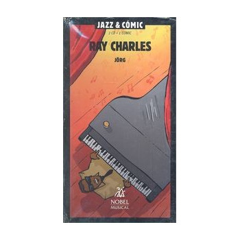RAY CHARLES JAZZ & COMIC (2CD + 1 COMIC)