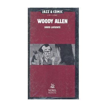 WOODY ALLEN JAZZ & COMIC (2CD + 1 COMIC)