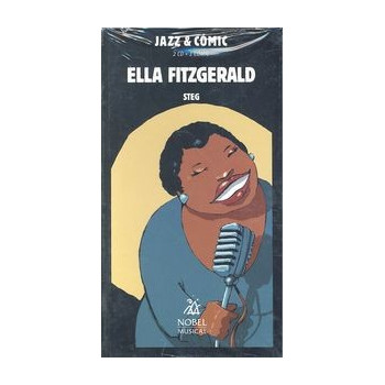 ELLA FITZGERALD JAZZ & COMIC (2CD + 1 COMIC)