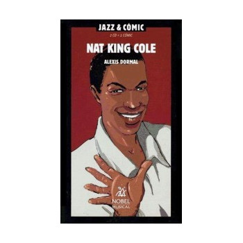 NAT KING COLE JAZZ & COMIC (2CD + 1 COMIC)