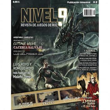 NIVEL 9 REVISTA DE JUEGOS DE ROL 02