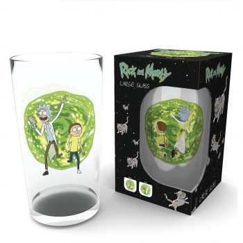 VASO PORTAL. RICK Y MORTY