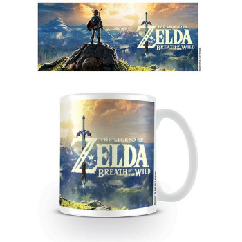 TAZA ATARDECER BREATH OF THE WILD. THE LEGEND OF ZELDA