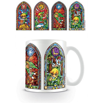 TAZA CRISTALERA. THE LEGEND OF ZELDA
