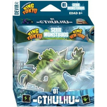 SERIE MONSTRUOS 01 CTHULHU - KING OF TOKYO / KING OF NEW YORK