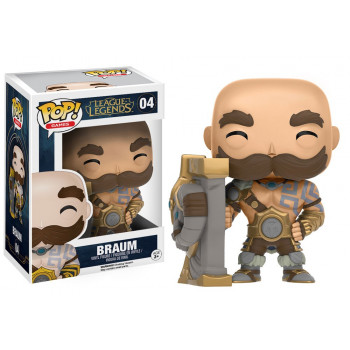 FUNKO POP! 04 BRAUM. LEAGUE...