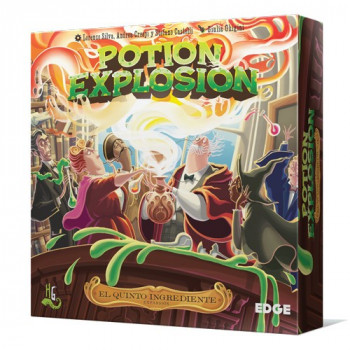 POTION EXPLOTION: EL QUINTO INGREDIENTE