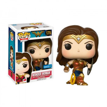 POP! 175 WONDER WOMAN (POSTURA BATALLA Y ESCUDO). WONDER WOMAN