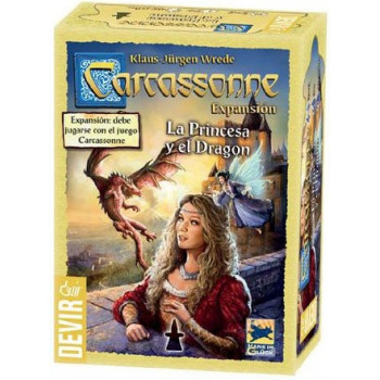 CARCASSONNE - LA PRINCESA Y EL DRAGON