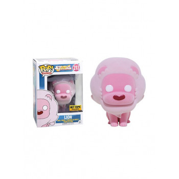 POP! 213 LION (FLOCKED). STEVEN UNIVERSE