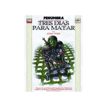 PENUMBRA - TRES DIAS PARA...