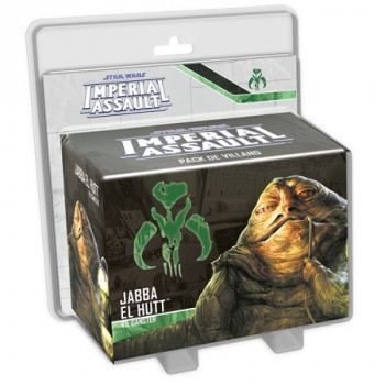STAR WARS IMPERIAL ASSAULT: JABBA EL HUTT - VIL GANSTER