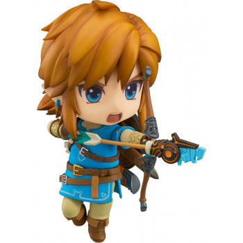 FIGURA LINK NENDOROID 10cm. THE LEGEND OF ZELDA  BREATH OF THE WILD