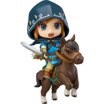 FIGURA LINK DELUXE EDITION NENDOROID 10cm. THE LEGEND OF ZELDA  BREATH OF THE WILD