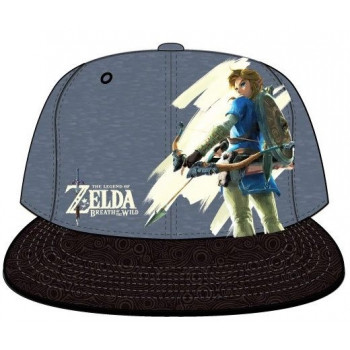 GORRA BREATH OF THE WILD. THE LEGEND OF ZELDA