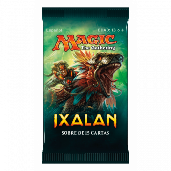 MAGIC - SOBRE 15 CARTAS IXALAN