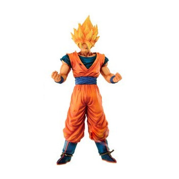 FIGURA SUPER SAIYAN SON GOKU 28cm. DRAGON BALL RESOLUTION OF SOLDIERS