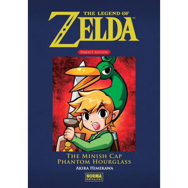 THE LEGEND OF ZELDA PERFECT EDITION:THE MINISH CAP Y PHANTOM