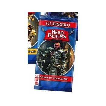 HERO REALMS - SOBRE DE PERSONAJE: GUERRERO