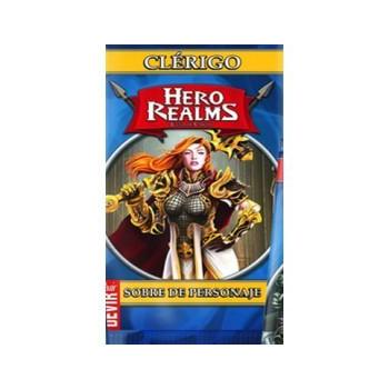 HERO REALMS - SOBRE DE PERSONAJE: CLERIGO