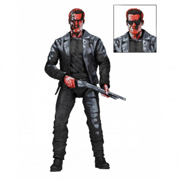 FIGURA T-800 TERMINATOR 2 JUDGMENT DAY VIDEO GAME APPEARANCE 18 CM