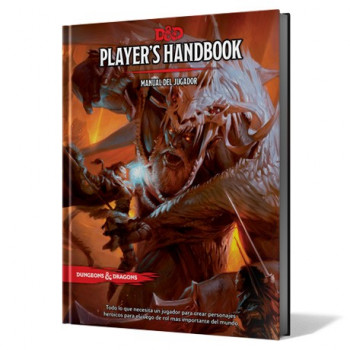 MANUAL DEL JUGADOR (PLAYERS HANDBOOK) - DUNGEONS & DRAGONS 5ª EDICION