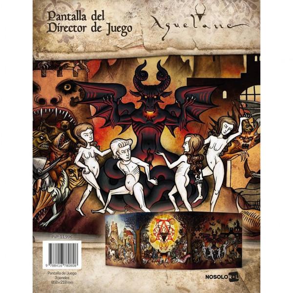 AQUELARRE - PANTALLA DEL DJ