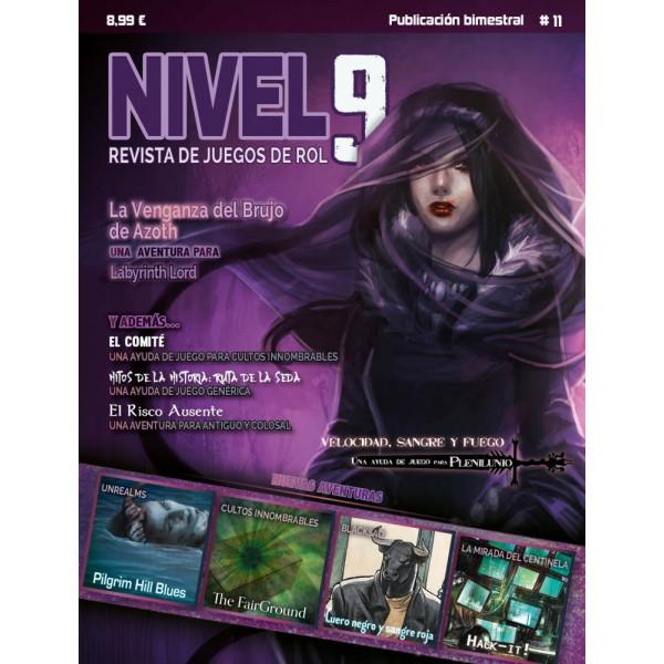 NIVEL 9 REVISTA DE JUEGOS DE ROL 11