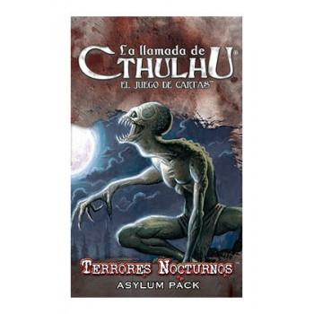 LA LLAMADA DE CTHULHU LCG - TERRORES NOCTURNOS - ASYLUM PACK 3
