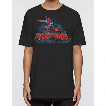 CAMISETA TALLA M. POSE. DEADPOOL