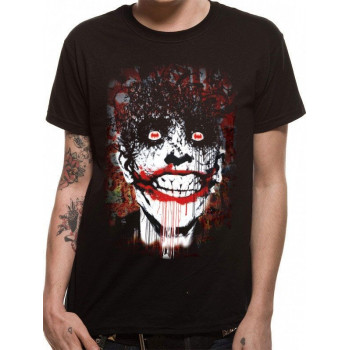 CAMISETA TALLA XL. ARKHAM JOKER. BATMAN
