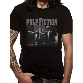 CAMISETA TALLA L. JULES Y VINCENT. PULP FICTION