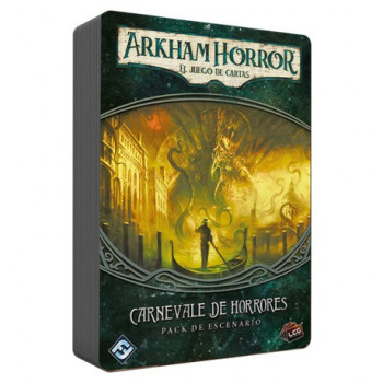 CARNEVALE DE HORRORES: EXPANSION ARKHAM HORROR - JUEGO DE CARTAS