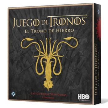 LAS GUERRAS VENIDERAS - EXPANSION EL TRONO DE HIERRO - JUEGO DE TRONOS
