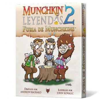 MUNCHKIN LEYENDAS 2 FURIA...