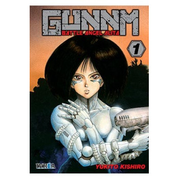 GUNNM (BATTLE ANGEL ALITA) 01