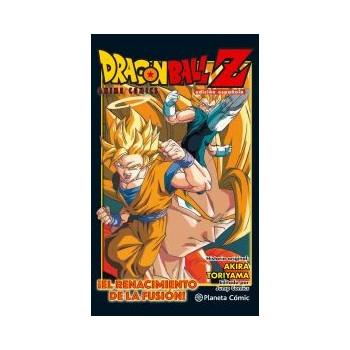 DRAGON BALL Z ANIME COMIC ¡EL RENACER DE LA FUSION! GOKU Y VEGETA!