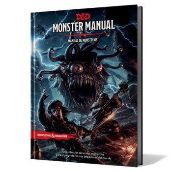 MANUAL DE MONSTRUOS (MONSTER MANUAL) - DUNGEONS & DRAGONS 5ª EDICION
