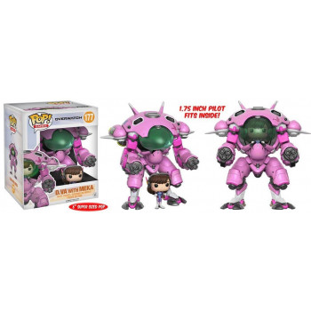 POP! 177 D.VA WITH MEKA. OVERWATCH