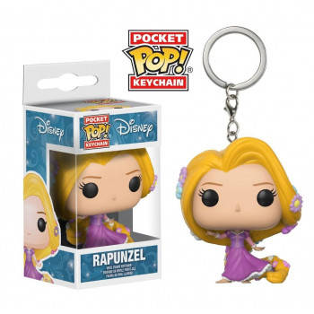 POCKET POP! LLAVERO RAPUNZEL. DISNEY