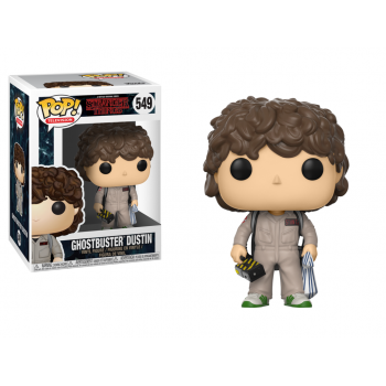 POP! 549 GHOSTBUSTER DUSTIN. STRANGER THINGS