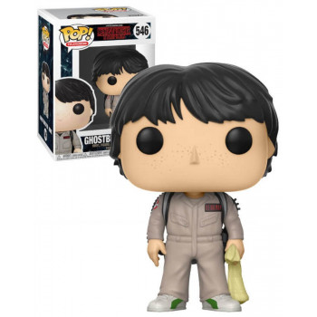 POP! 546 GHOSTBUSTER MIKE. STRANGER THINGS